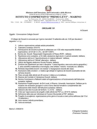 d1_collegio_docenti - Istituto Comprensivo