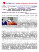 """Scarica l`ultimo numero - Comunità Pastorale """"Santi Piccoli Martiri"""