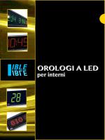 IBLE - 2014 Listino Orologi per Interni