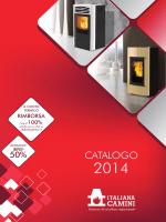 italiana camini: catalogo 2014
