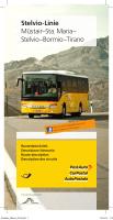 Stelvio-Linie Müstair–Sta. Maria– Stelvio–Bormio–Tirano