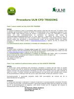 Procedura ULN CFD TRADING