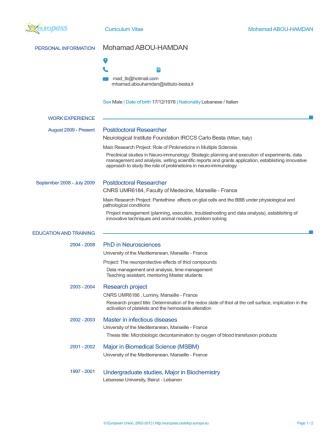 Consulenti e collaboratori - CV - A-B