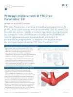 Principali miglioramenti di PTC Creo® Parametric™ 3.0