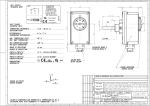 T80 1K/min IP40 TYPE TC2 1750 THERMOSTAT