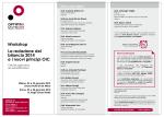 Workshop La redazione del bilancio 2014 e i nuovi principi OIC