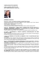 curriculum didattico scientifico camilla sansone. architetto, phd