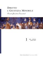Numero 1 anno 2014 - Diritto e Giustizia Minorile