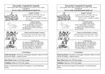 Calendario Settimanale - Parrocchie Valfreddana Sud