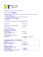 Via S. Secondo, 29 - Azienda Sanitaria Locale TO 1