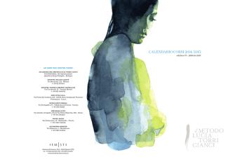 CALENDARIO CORSI 2014/2015 - Metodo Lucia Torri Cianci