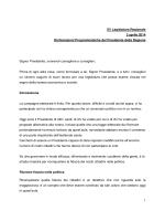 XV Legislatura Regionale 2 aprile 2014 Dichiarazioni