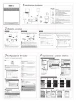 Installazione hardware Modalità operative Configurazione del