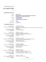 download curriculum vitae - Autorità Portuale di Augusta