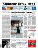 Corriere della sera - 22.07.2014