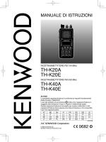 TH-K40A TH-K40E TH-K20A TH-K20E