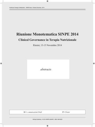 Contenuti SINPE News 4-2014