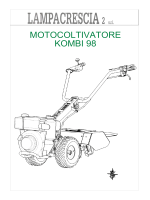 MOTOCOLTIVATORE KOMBI 98