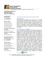 Prospetto informativo alla eco endoscopia (EUS)