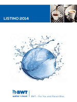 Listino 2014 – BWT Water+More