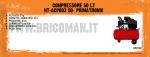 COMPRESSORE 50 LT HT-ACP003 50- PRIMATRONIC