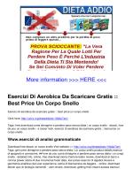 Esercizi Di Aerobica Da Scaricare Gratis :: Best Price Un Corpo Snello