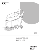 SCRUBTEC 453 PARTS LIST - Nilfisk