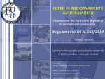 Schema Regolamento UE 165/2014