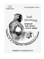 Sincro Programma Gara 25/05/2014
