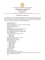 CORSO BASE COMPLETO DIEN CHAM/N