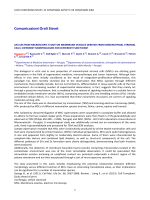 Comunicazioni Orali Sisvet