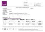 GROUP N.1 Arrival information: 28/08/2014