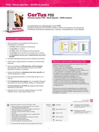 CerTus POS - ACCA software