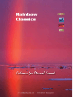 Colours for Eternal Sound Rainbow Classics