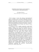 SCISSIONE SOCIETARIA E BANCAROTTA