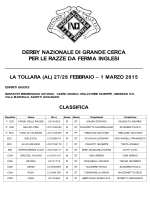 Classifica derby nazionale di Grande Cerca inglesi 2015