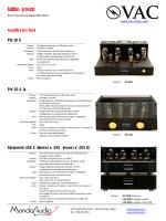 VAC - Listino Novembre 2014