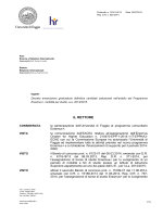DR approvazione graduatoria definitiva Bando Erasmus+