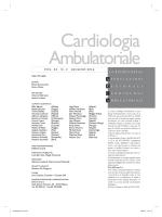 Cardiologia Ambulatoriale - ARCA Associazioni Regionali