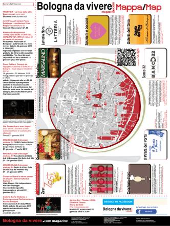 Bologna da vivere Mappa/Map