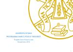 UNIVERSITÀ DI PAVIA PROGRAMMA MARCO POLO E TURANDOT