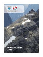 PROGRAMMA 2015 - CAI Sezione di Sacile