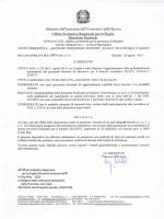 Decreto ed elenchi n. 1, 2 e 3 - Ufficio VIII ambito territoriale per la