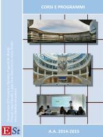 Brochure dei corsi (pdf) - Cognetti de Martiis