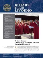 Il Coro Gospel - Rotary Club Livorno