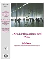 I Nuovi Anticoagulanti Orali (NAO)