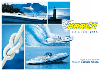 CATALOGO 2015 - Marlin boat