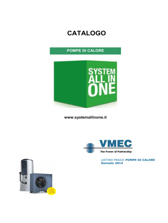 Catalogo Caldensa - system all in one
