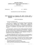 DDG n. 386/2014 - ULSS 1 Belluno