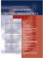 2. Lettere della Facoltà marzo-aprile 2014